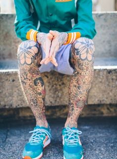 Mens Leg #Tattoos With Beautiful Designs