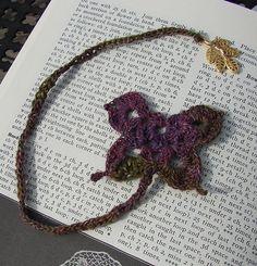 Butterfly Bookmarks pattern by Anna Pakura (Apak) ~ free pattern