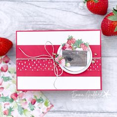 Current Catalog, Love Challenge, Global Design, Project Yourself, Stampin Up Cards, Your Cards, Cardmaking, Berries, Blessed