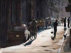 "Saatchi Art Artist Yuriy Kraft; Painting, ""Street of Havana"" #art"