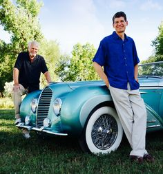 """Clive Cussler, one of his amazing cars and """"Dirk"""" Pitt Clive Cussler, Book Authors, Books, Garages, Amazing Cars, Muscle Cars, Famous People, Writer, Celebrities"""