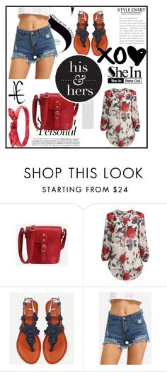 """Shein 9"" by zina1002 ❤ liked on Polyvore featuring Charlotte Russe"