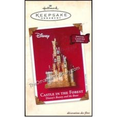 2002 Castle in the Forest, Disneys Beauty and the Beast | Hallmark Keepsake Ornaments | The Ornament Factory