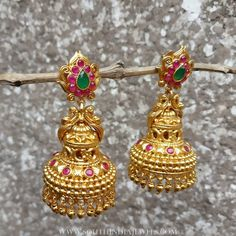 Gold+Plated+Jhumka+From+Rimli+Boutique