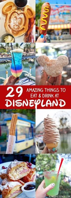 29 Amazing Things to Eat and Drink at Disneyland - What to Eat at Disneyland Tips and Tricks