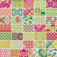 Joel Dewberry Notting Hill Quilters Fat by MyFabricFettish
