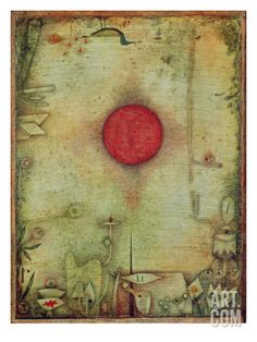 Ad Marginem, 1930 Giclee Print by Paul Klee at Art.co.uk