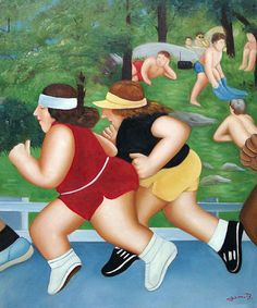 Fernando Botero...something about this :)