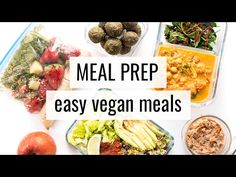Part 3: FREE VEGAN MEAL PLAN (Quick, Easy, Healthy) - YouTube