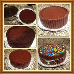 KitKat Cake Assembly