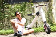 @onebotscooter will change your life.