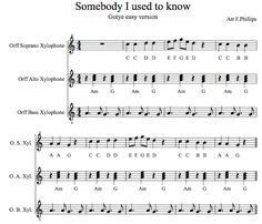 Buchanan Music Program: Good resources