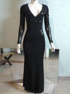 Vestido festa lurex. M