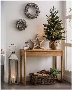 Decorando a casa para o Natal...