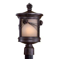 Welcome your guests in a rustic style with the charming, nature-inspired Abbey Lane™ post lantern.Sturdy construction combined with a durable and distinctive finish assures a lantern that will light your way for years to comeFeatures a hand-applied, multi-step finishNote: Required mounting hardware (post or pier mount) sold separately (see accessories). Finishes may vary due to chemical processes and the nature of handcraftsmanship.