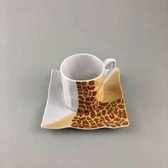 Safari Kaffeetasse Safari, Tea Cups, Porcelain, Tableware, Gifts, Men, Coffee Cups, Glee, Porcelain Ceramics