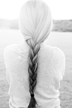 Long braided ombre, gray and black White Ombre Hair, Silver Ombre Hair, Black Grey Ombre, Ombre Hair Color, Black And Silver Hair, Hair Colors, Cool Haircuts For Girls, Girl Haircuts, Long Gray Hair