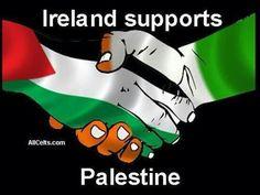 Ireland supports Palestine