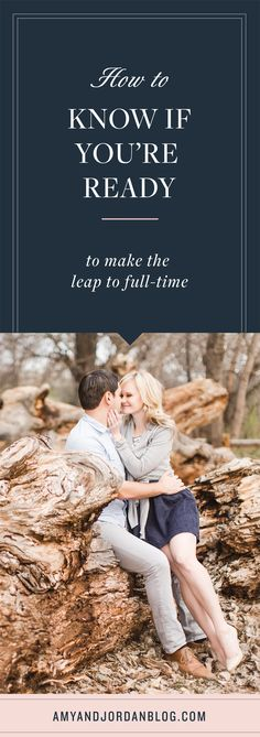 How to know if you're ready to make the leap to full time. Dslr Photography Tips, Time Photography, Wedding Photography Tips, Photography Tips For Beginners, Photography Website, Photography Tutorials, Photography Business, Improve Photography, Amy And Jordan