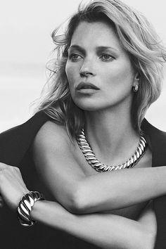 Kate Moss for David Yurman Kate Moss, Peter Lindbergh, Top Models, Fashion  Models a840b7858ae