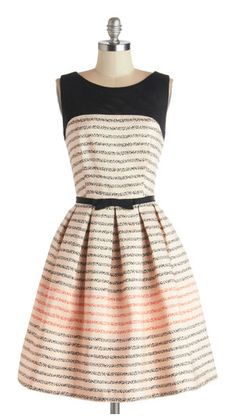 So cute! add some black tights and cute shoes... Looks like a New Girl outfit!
