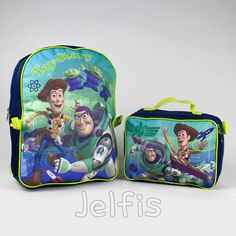 Disney Toy Story Backpack Attach Lunch Bag - Adventure 16