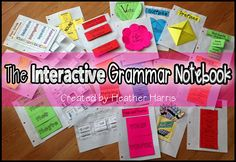 Who wants another grammar worksheet?  Spice up your Language Arts lessons with these interactive pages that act as mini-anchor charts for your students.