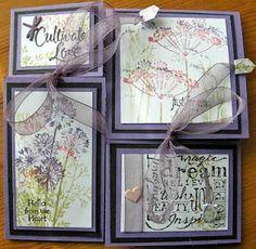 four-fold card