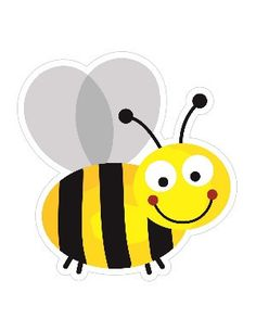 Buzzing Bee Cut Outs More