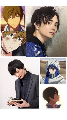 Nobunaga Shimazaki, Tatsuhisa Suzuki, Makoharu, Bishounen, Swim Club, Free Anime, Fujoshi, I Laughed, Swimming