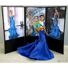 My custom made Confidently Beautiful Miss Universe 2015 Pia Alonzo Wurtzbach Barbie Doll.  #barbie  #barbiedoll #barbiedolls  #piaalonzowurtzbach #piawurtzbach #missuniverse2015 #missuniverse #mattel #matteldolls #barbiestyle  #barbiecollector  #collectordolls #blue #bluegown #dudeswithdolls  #dudewithbarbies  #style #fashion #p #photography #toys by ryanandbarbie