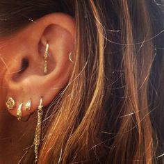 Ear Earrings & Piercings by Manon Jewelry