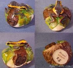Wounaan Tagua Frog Carving Panama 21711   eBay