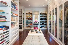 Best Walk-in Closets - 13 Enviable Closets From Pinterest - Elle @gtl_clothing #getthelook http://gtl.clothing