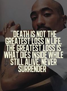 2PAC WHY YOU HAD TO GO B4 YOUR TIME WITH SO MUCH TO SHARE WITH.SO MUCH GOOD ADVICE RIP WE LOVE YOU AND STILL USE YOUR ADVICE! !!!