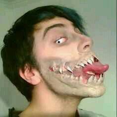 nice make up...
