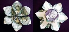 money origami pineapple instructions