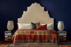 interior design Home Decor Items, Cheap Home Decor, Home Decor Accessories, Bedroom Furniture, Bedroom Decor, Bedroom Ideas, Cozy Bedroom, Dream Bedroom, Headboard Shapes