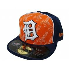 Detroit Tigers Authentic New Era 59fifty Fitted Hat-DT066 Detroit Tigers Hat aa4638d42ed