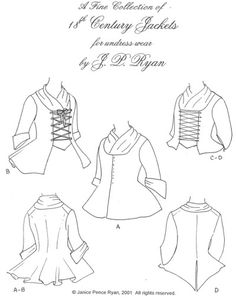 257 best 18th century fashion images 18th century fashion Teaching in the 18th Century jp ryan 11 18th century ladies jackets pattern i ve already made