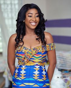 We Love Ghana Weddings💑💍 ( Ghana Wedding Dress, African Wedding Attire, African Attire, African Weddings, Ghana Traditional Wedding, African Traditional Wedding Dress, African Print Dress Designs, African Print Fashion, African Wear Dresses