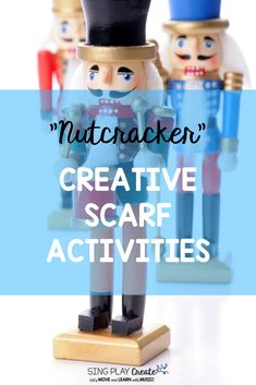 You'll have your elementary music class students dancing and moving with these Nutcracker themed scarf activity cards. Perfect for K-3 Classrooms. Sparkly directional cards will keep your students engaged and creative during December holiday lessons. #singplaycreate  #musicclassresource  #musiceducation  #elementarymusiced  #musiced  #elementarymusiceducation  #musicandmovement #tptteacher #preschool #homeschool #movementactivities #holidaysongs #orfflessons #orffteacher #christmassongs