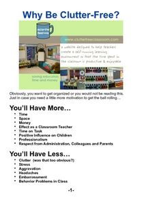 Clutter-Free Classroom Guide to Organizing & Managing Your Classroom    NOT ONLY IS THIS MY #1 SELLING PRODUCT, BUT IT WAS THE NUMBER ONE SELLING PRODUCT OF THE WEEK FOR ALL OF TEACHERS PAY TEACHERS!