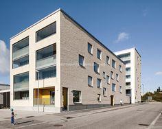 Agronominkatu корпус 1 В Г. Хельсинки, Финляндия, разработанный AOA архитекторов.