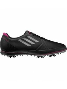 Adidas Women's adizero Tour Golf Shoe-Black