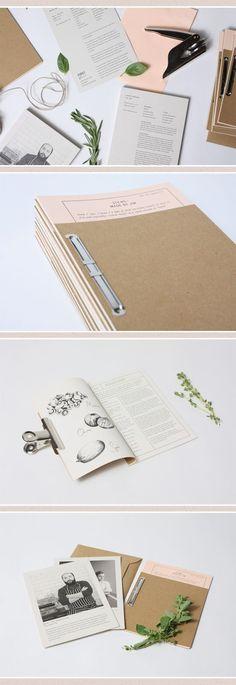 Editorial print design / layout via Joanna Hobbs Design - Graphic design: