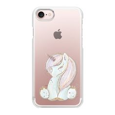 Cute Unicorn - iPhone 7 Case And Cover ($29) ❤ liked on Polyvore featuring accessories, tech accessories, iphone case, slim iphone case, iphone cases, apple iphone case, unicorn iphone case and iphone cover case
