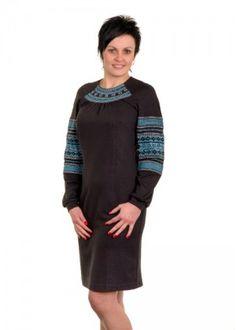 Плаття  оздоблене бісером М-1012-2