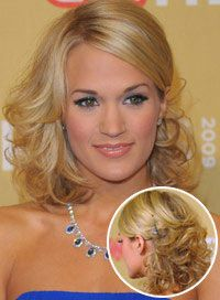 Carrie Underwood's Best Hair - BeautyRiot.com - Controlled curls