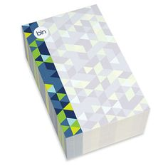 Blue Dynamic Ways Chunky Notepads